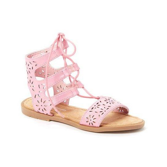 Pink Floral Sandals-Shoes - Women-Eden Lifestyle-12-Eden Lifestyle