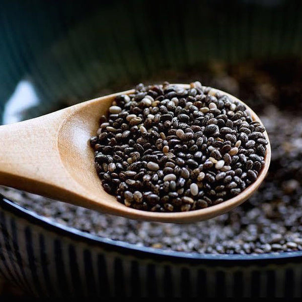 Chia Seeds - 100% Pure Premium Black Grown - Vegan Gluten-Free