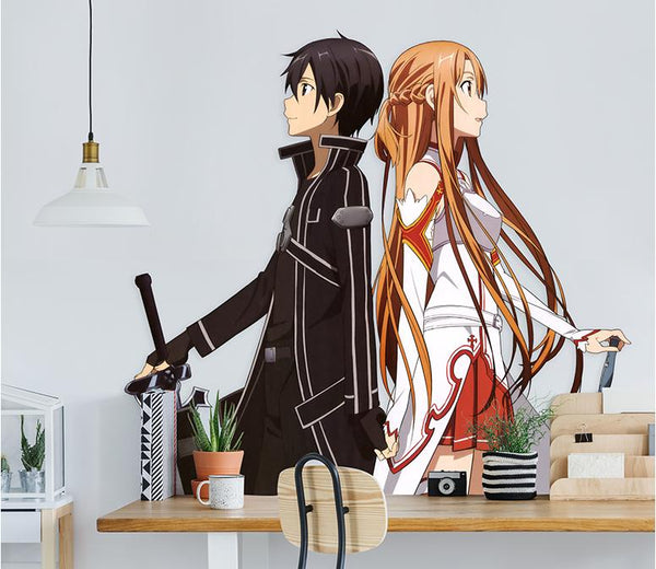 Anime Character Wall Stickers