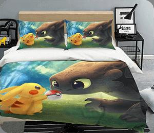 Anime Bed Pillowcases Duvet Cover Quilt Cover Collection