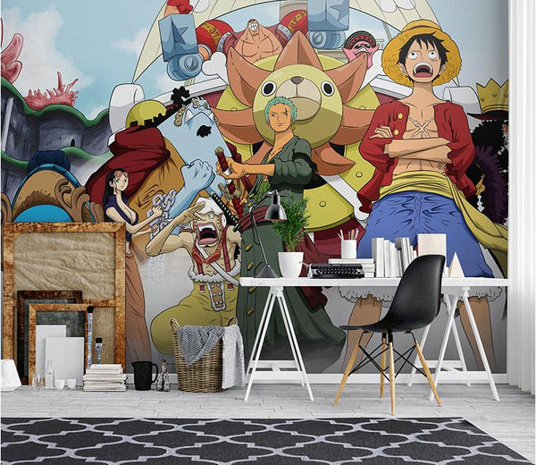 Anime Wall Murals Collection