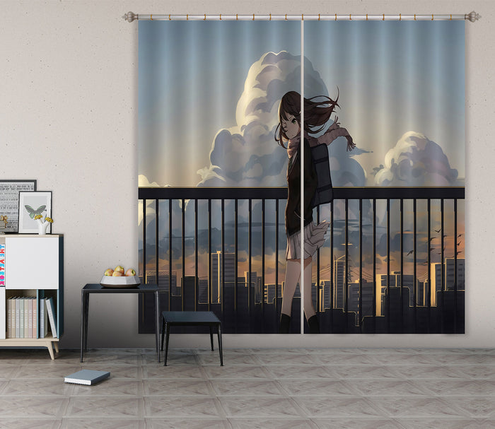3D Cinderella Girls 214 Anime Curtains Drapes