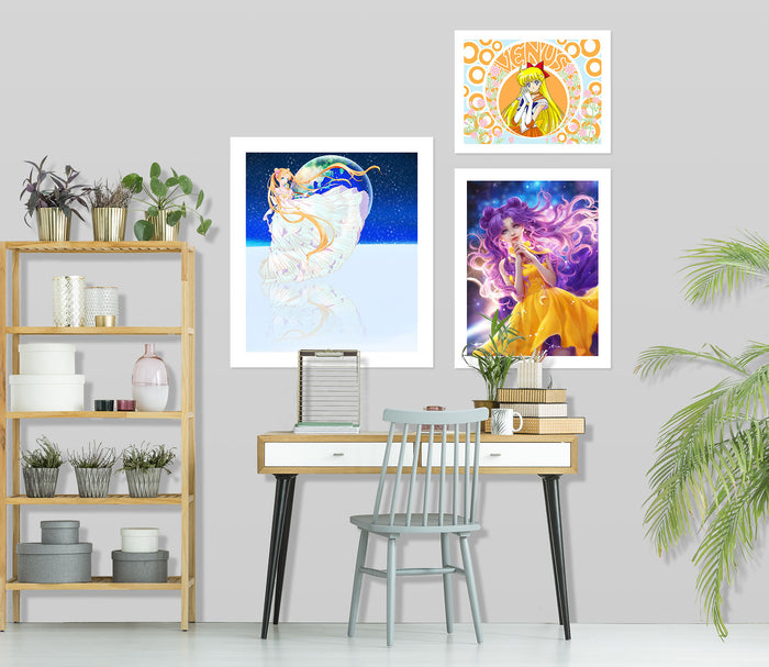 Sailor Moon A911 Anime Combine Wall Sticker