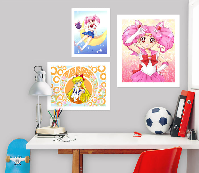 Sailor Moon A858 Anime Combine Wall Sticker