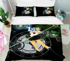 3D Sailor Moon 562 Anime Bed Pillowcases Duvet Cover Quilt Cover