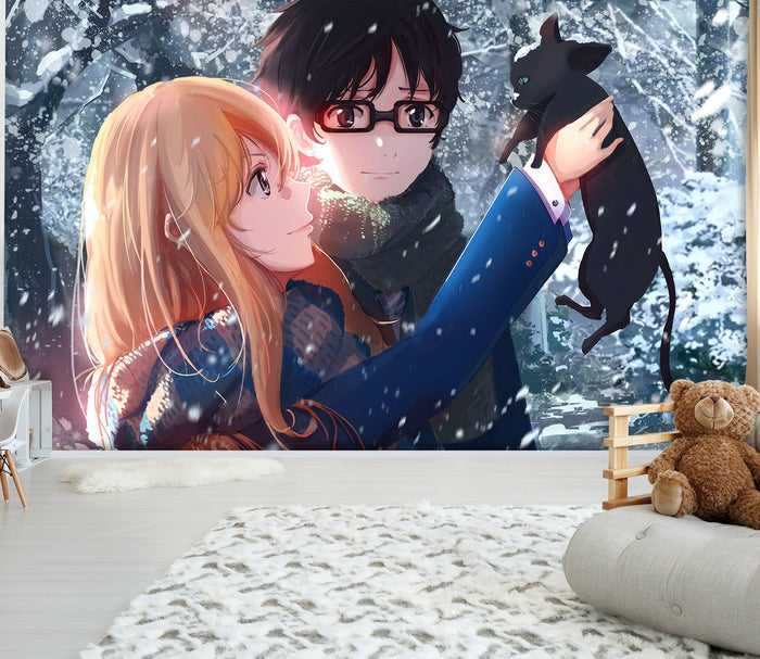 3D Your Lie in April 184 Wallpaper