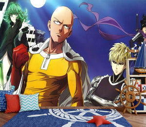 3D One Punch Man 256 Wallpaper