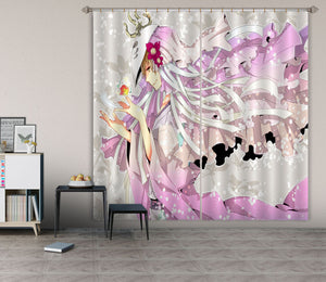 3D Natsume 115 Anime Curtains Drapes