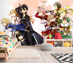 3D Sword Art Online 225 Wallpaper