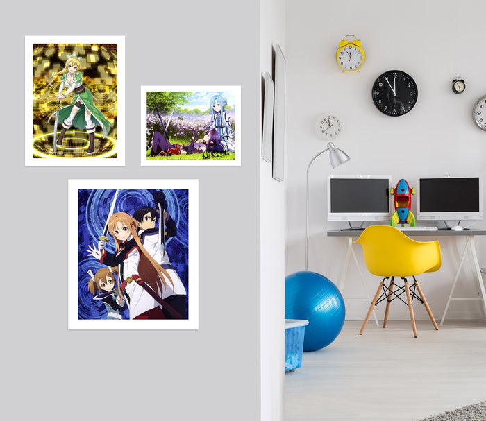 Sword Art Online A796 Anime Combine Wall Sticker