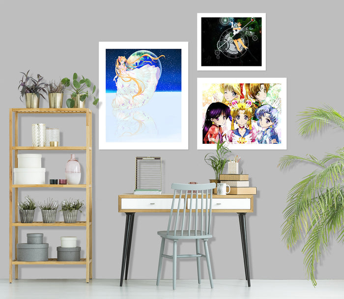 Sailor Moon A900 Anime Combine Wall Sticker