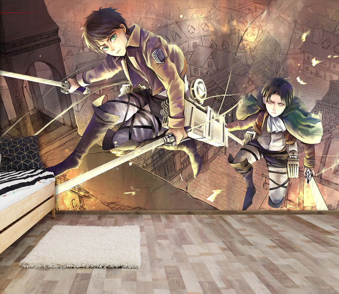 3D Attack On Titan 523 Wallpaper