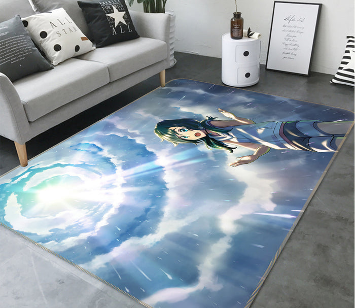 3D Weathering With You 1022 Anime Non Slip Rug Mat