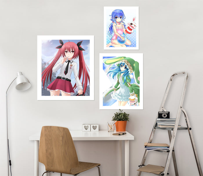 Date A Live A632 Anime Combine Wall Sticker