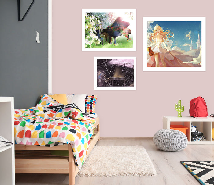 Your Lie In April A289 Anime Combine Wall Sticker