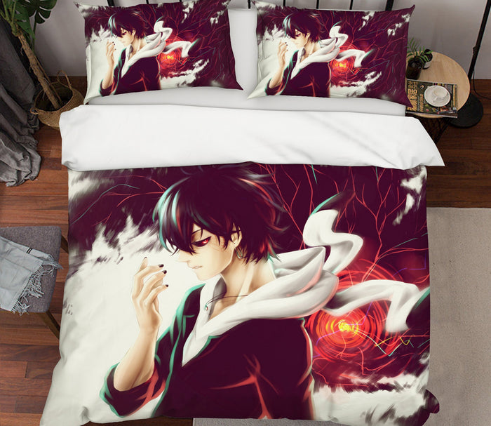 3D Tokyo Ghoul 185 Anime Bed Pillowcases Duvet Cover Quilt Cover