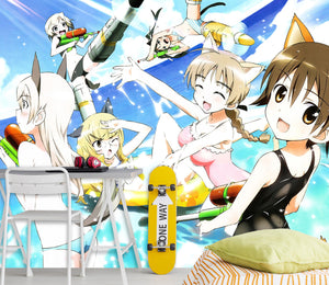 3D STRIKE WITCHES 113 Wallpaper