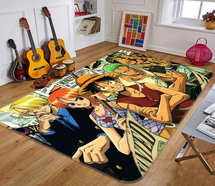 3D One Piece 1145 Anime Non Slip Rug Mat