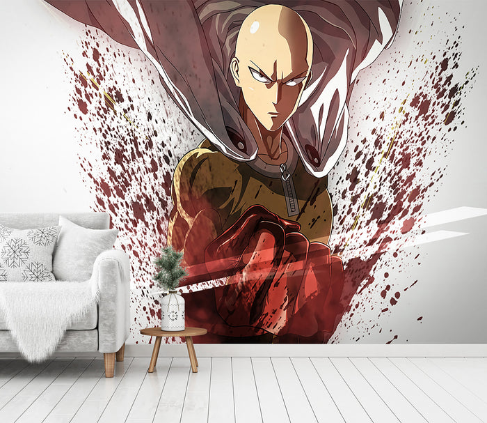 3D One Punch Man 233 Wallpaper