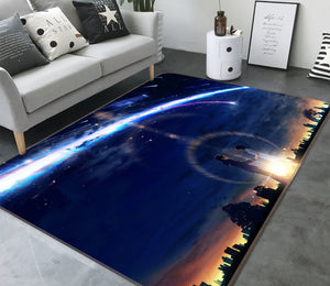 3D Your Name 1373 Anime Non Slip Rug Mat