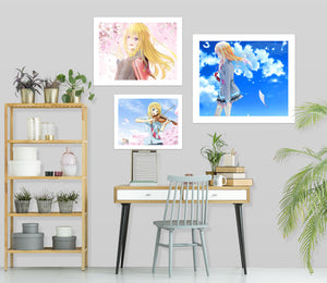 Your Lie In April A284 Anime Combine Wall Sticker