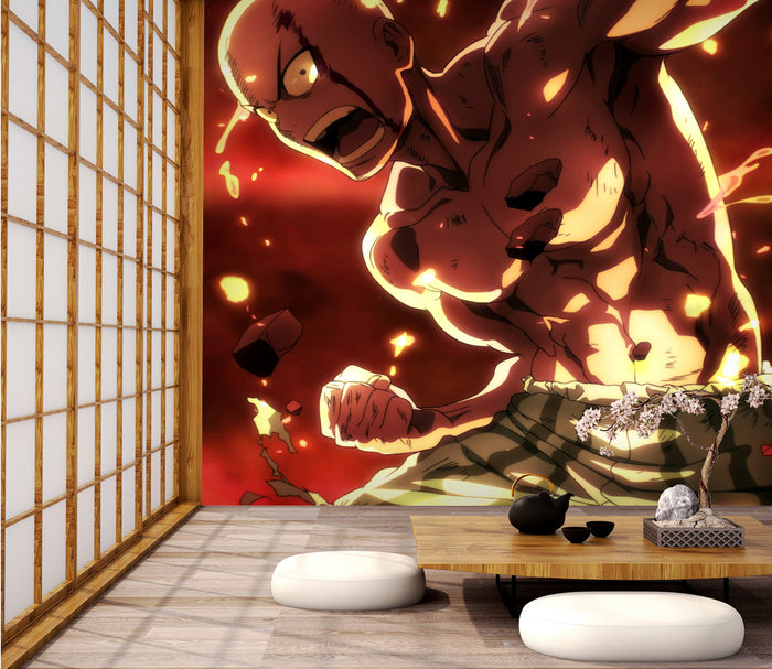3D One Punch Man 221 Wallpaper