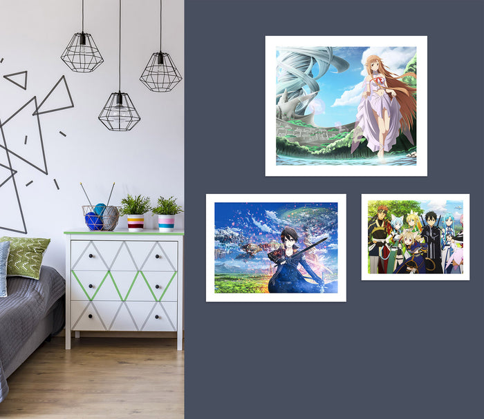 Sword Art Online A842 Anime Combine Wall Sticker