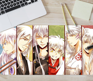 3D Inuyasha 4086 Anime Desk Mat
