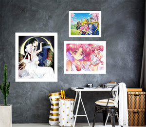 Sailor Moon A892 Anime Combine Wall Sticker