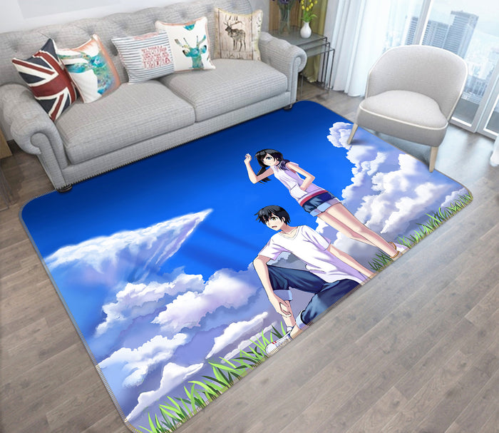 3D Weathering With You 1020 Anime Non Slip Rug Mat
