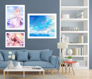 Your Lie In April A281 Anime Combine Wall Sticker