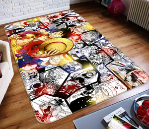 3D One Piece 1270 Anime Non Slip Rug Mat