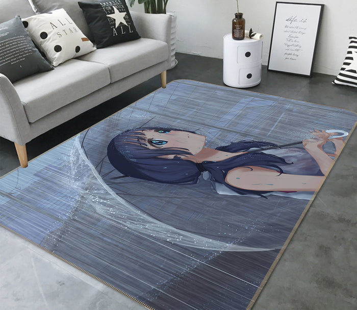 3D Weathering With You 1016 Anime Non Slip Rug Mat
