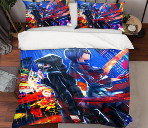 3D Tokyo Ghoul 200 Anime Bed Pillowcases Duvet Cover Quilt Cover