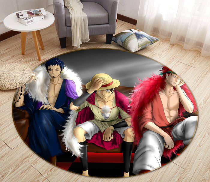 3D One Piece 1742 Anime Non Slip Rug Mat