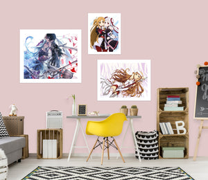 Sword Art Online A757 Anime Combine Wall Sticker