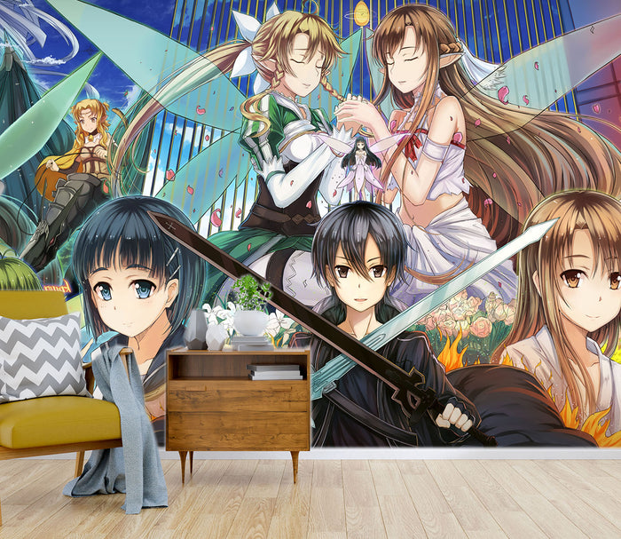 3D Sword Art Online 161 Wallpaper