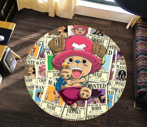 3D One Piece 1328 Anime Non Slip Rug Mat