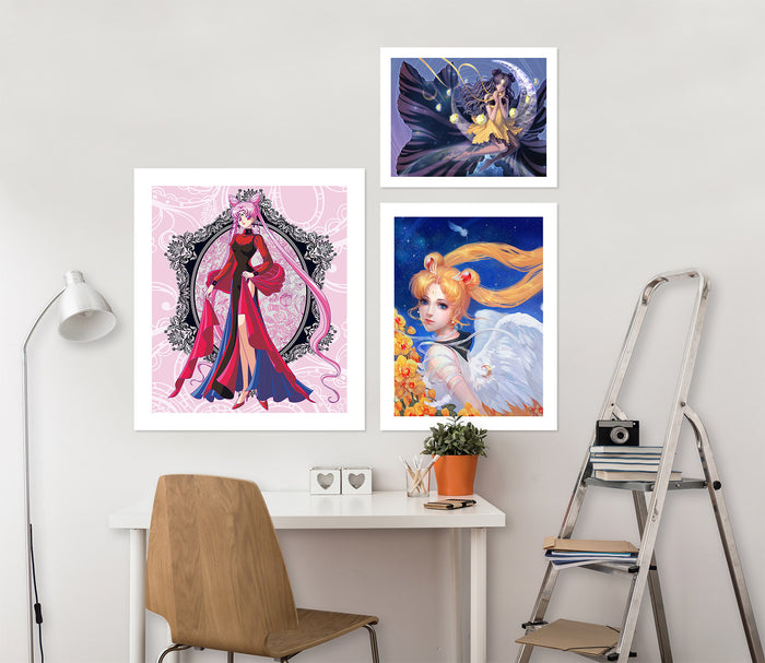 Sailor Moon A940 Anime Combine Wall Sticker