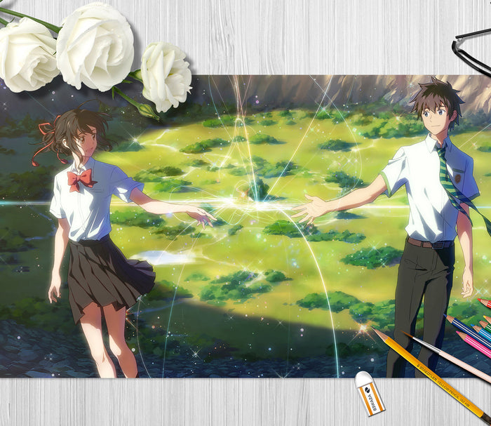 3D Your Name 4219 Anime Desk Mat