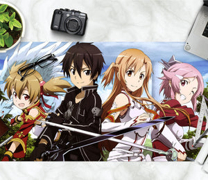 3D Sword Art Online 4109 Anime Desk Mat