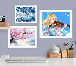 Your Lie In April A282 Anime Combine Wall Sticker