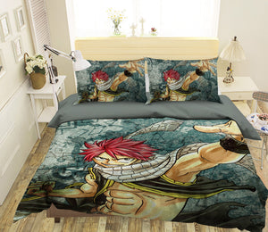3D Fairy Tail 764 Anime Bed Pillowcases Duvet Cover Quilt Cover