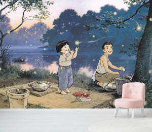3D Grave Of The Fireflies 021 Wallpaper