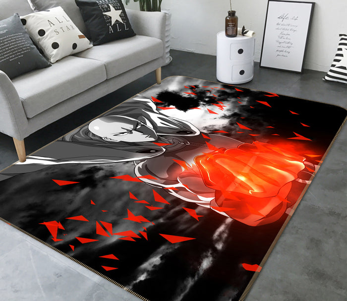 3D One Punch Man 1234 Anime Non Slip Rug Mat