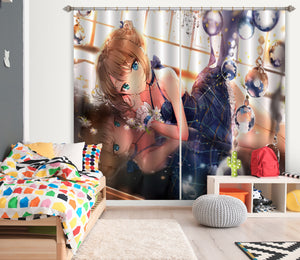 3D Cinderella Girls 213 Anime Curtains Drapes