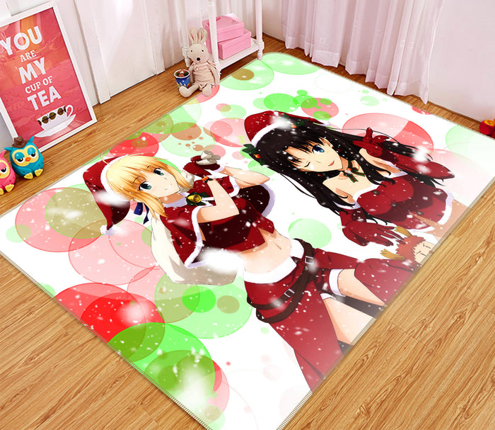 3D Fate Stay Night 1065 Anime Non Slip Rug Mat