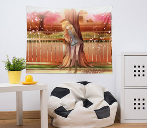 3D Your Lie In April 2389 Anime Tapestry Hanging Cloth Hang