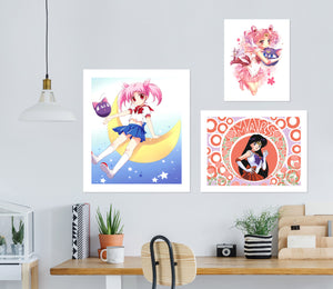 Sailor Moon A852 Anime Combine Wall Sticker