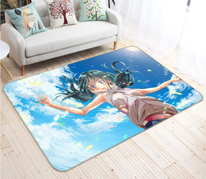 3D Weathering With You 1039 Anime Non Slip Rug Mat